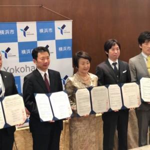 ウェルモら4社が横浜市と介護領域共創で協定締結、ケアテック・オープン・ラボ横浜が始動