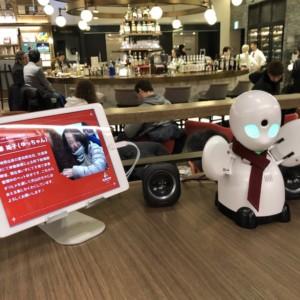 愛知から遠隔で「こんにちは」。分身ロボット・OriHimeらが期間限定で渋谷カフェにて接客