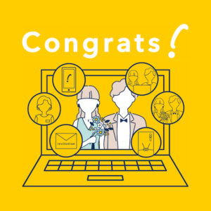 CRAZYが新たにオンライン結婚式サービス「Congrats」β版を発表。8月16日まで限定50組に提供
